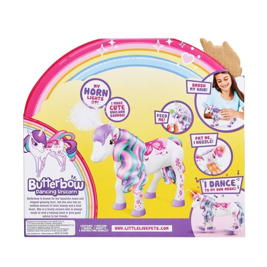 Little Live Butterbow Dancing Unicorn image number null