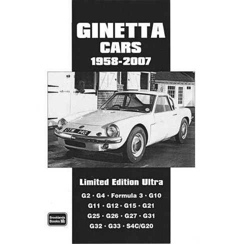 Ginetta Cars 1958-2007 - (Brooklands Road Test Series) by  R M Clarke (Paperback) - image 1 of 1