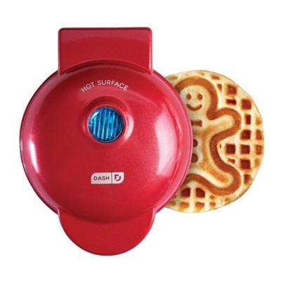 Dash Gingerbread Mini Waffle Maker