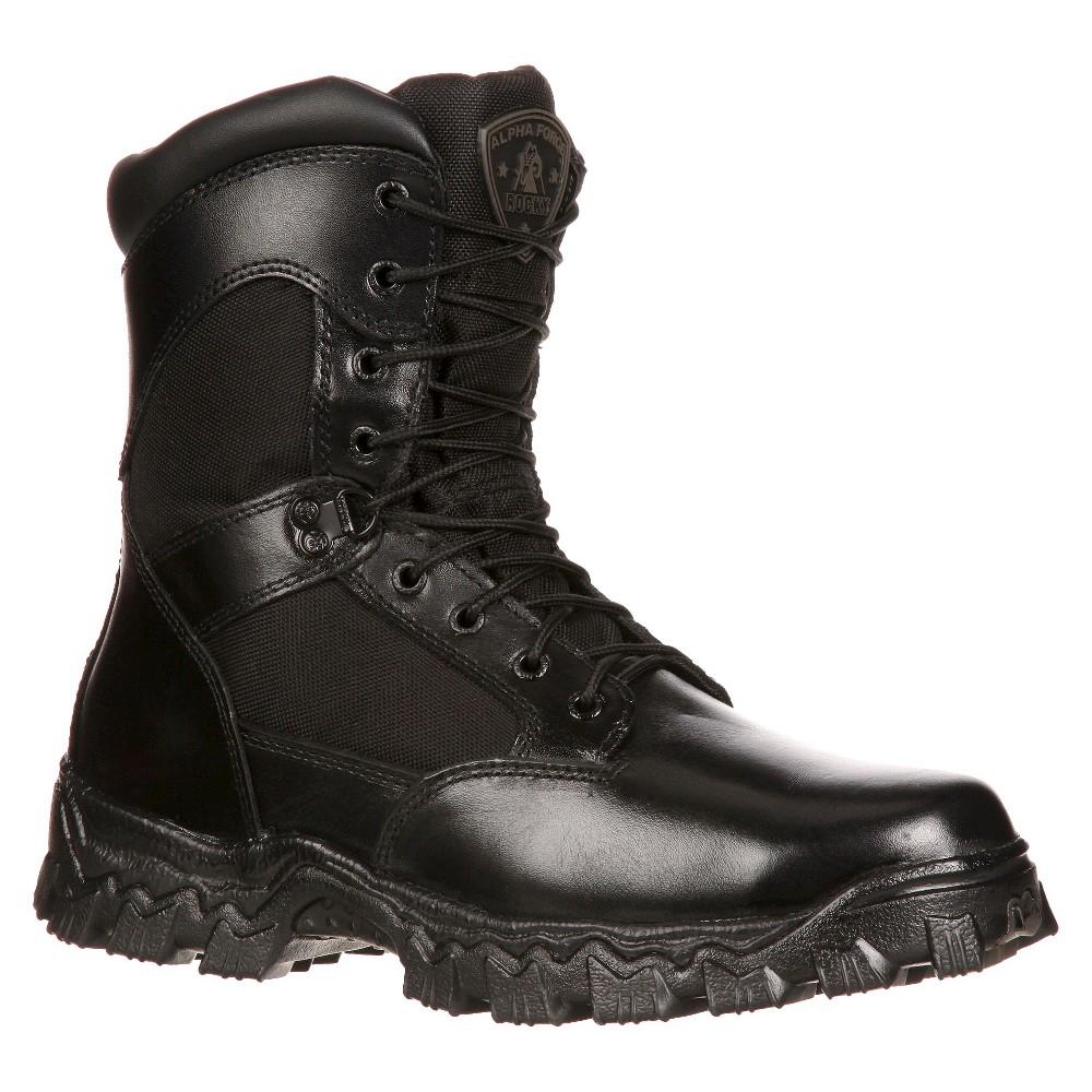 Men's Rocky Alpha Force Boots - Black 10M, Size: 10