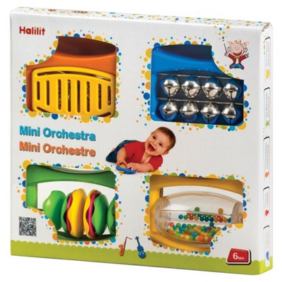 Edushape Mini Orchestra Action/reaction Toys - Set of 4