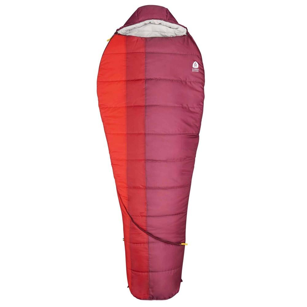 Sierra Designs Eldora 20 Degree Fahrenheit Mummy Sleeping Bag Red