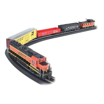 Bachmann Trains  706-BT Rail Chief BNSF Freight Electric Train Set, HO Scale