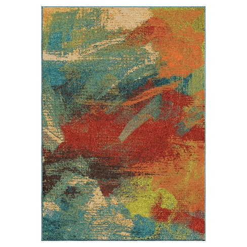 Opulence Abstract Multi Area Rug - Orian - image 1 of 4