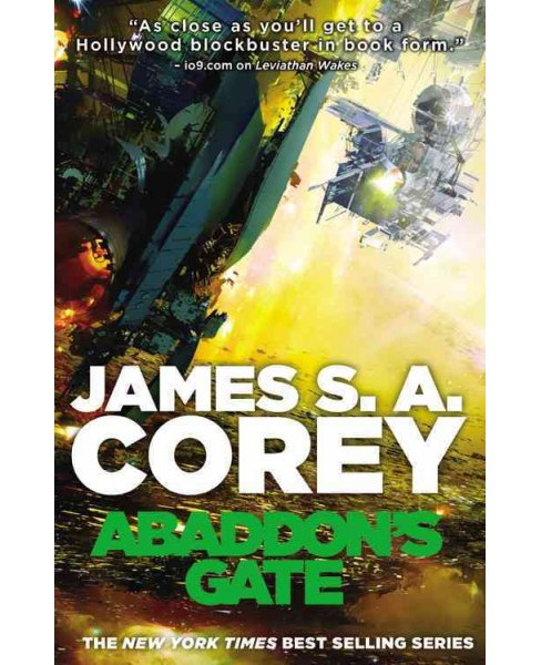 Abaddon's Gate -  (Expanse) by James S. A. Corey (Paperback) - image 1 of 1