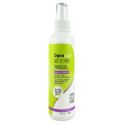Hair Styling: DevaCurl Set It Free Moisture Lock Finishing Spray