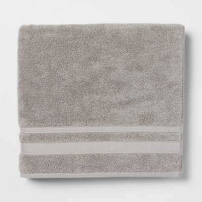 Performance Bath Towel Gray - Threshold™