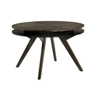 Gladwyn Round Dining Table Gray - ioHOMES