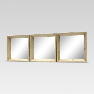 Square Mirror Ash 3pk - Project 62™