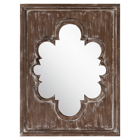 Rectangle Gifford Decorative Wall Mirror Baltic - Surya - image 1 of 1