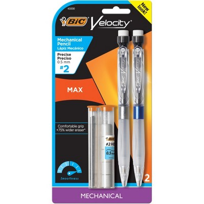 BIC Velocity Side Clic Mechanical Pencil Fine Point 12-Count 0.5mm