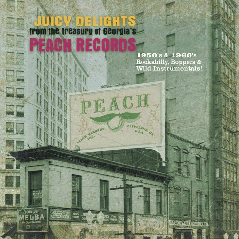 Various - Peach Records: 1950s & 1960s Rockabilly, Boppers & Wild Instrumentals (Vinyl) - image 1 of 1
