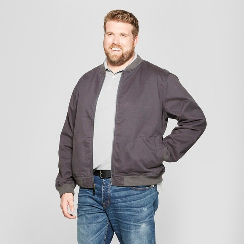 Men's Tall Workwear Bomber - Goodfellow & Co™ - image 1 of 2