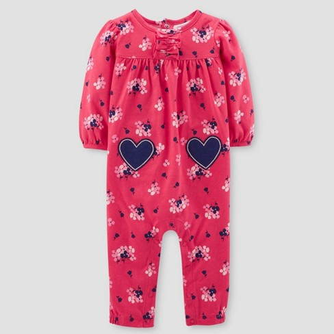 8f4134e9d Baby Girls  Floral Jumpsuit - Just One You™ Made By Carter s® Red ...