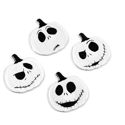 Seven20 Nightmare Before Christmas Jack Skellington Pumpkin King Drink Coasters | 4 Pack
