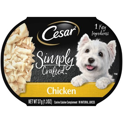 CESAR Simply Crafted Wet Dog Food - 1.3oz