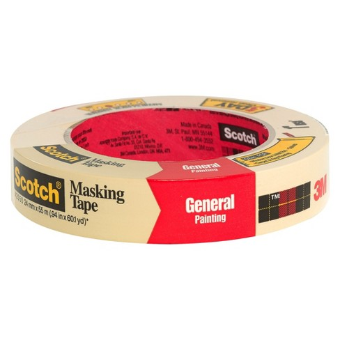 Scotch® Masking Tape, .94 in x 60.1 yd - image 1 of 1