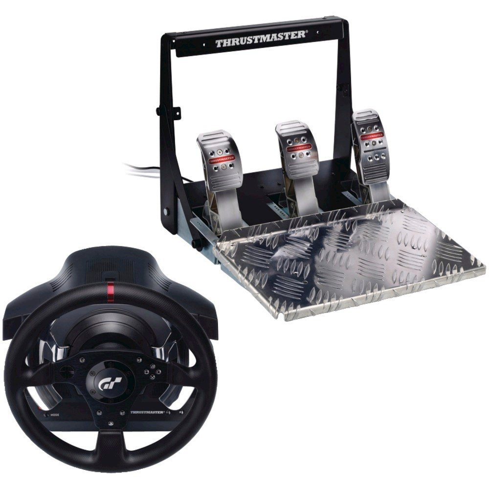 Thrustmaster T500 RS Steering Wheel With Pedals - Black PlayStation 3