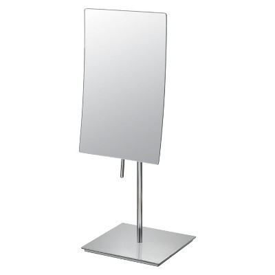 "Bathroom Mirror Image Minimalist Rectangular Vanity Bathroom Mirror 5""x8"" - Aptations"