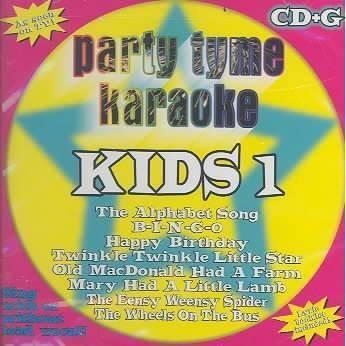 Party Tyme Karaoke - Party Tyme Karaoke - Kids 1 (8+8-song CD+G)