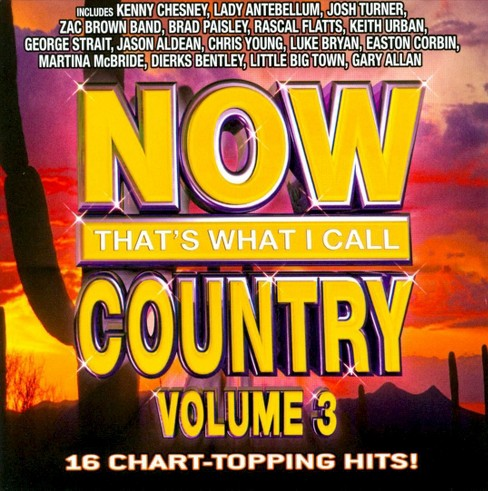 Various Artists - Now That's What I Call Country, Vol. 3 (CD) - image 1 of 1