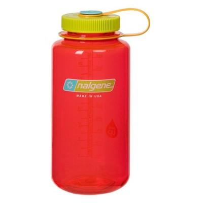 Nalgene 32oz Retro Wide Mouth Water Bottle - Red