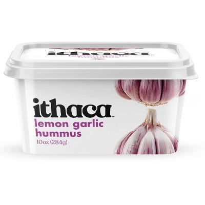 Ithaca Lemon Garlic Hummus - 10oz