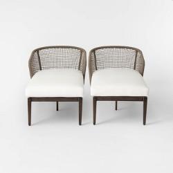 Risley 2pk Patio Chaise Lounge - Project 62™