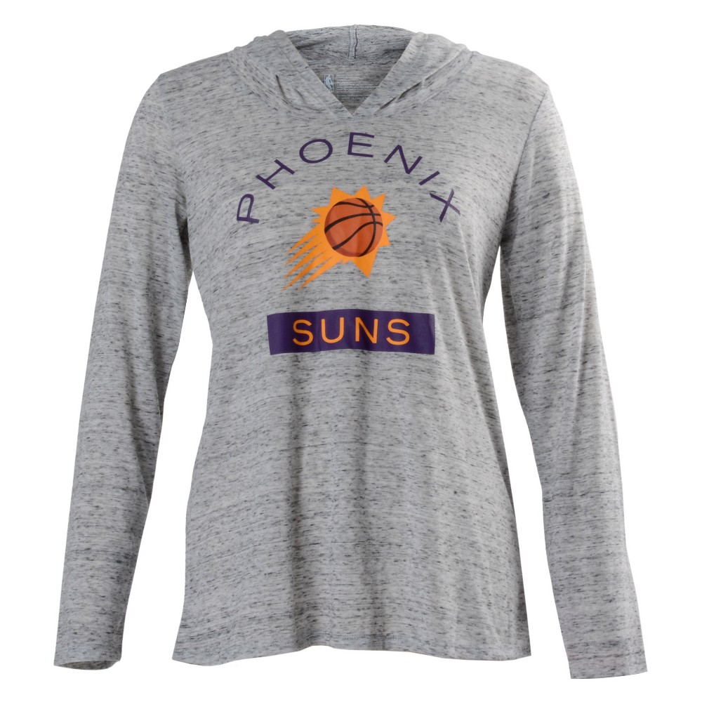 Phoenix Suns Women's Tech Arch Gray Lightweight Hoodie M, Multicolored