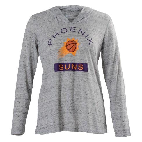 Phoenix Suns Women's Tech Arch Gray Lightweight Hoodie S - image 1 of 2