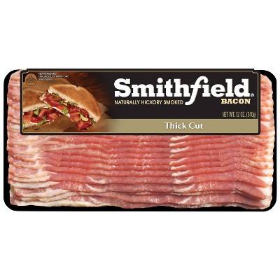 Smithfield Thick Cut Bacon - 12oz