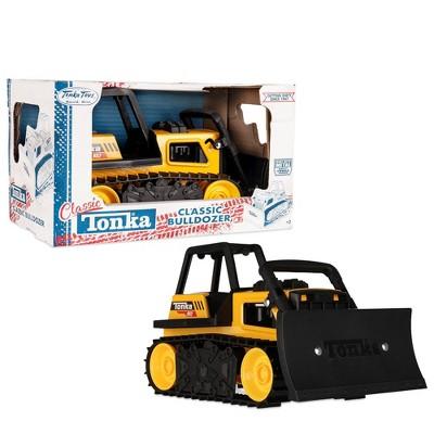 Tonka Retro Steel Classics Bull Dozer Toy Vehicle