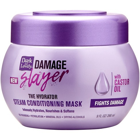 SoftSheen-Carson Dark and Lovely Damage Slayer The Hydrator Steam Conditioning Mask - 9 fl oz - image 1 of 4
