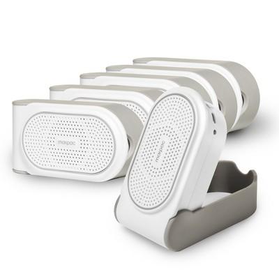 Yogasleep Go Travel White Noise Sound Machine, White, Bundle of 6