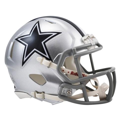 da6618f51 Dallas Cowboys Riddell Speed Mini Helmet - Silver : Target