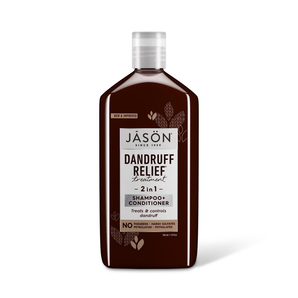 Image of Jason Dandruff Relief 2 in 1 Treatment Shampoo + Conditioner - 12 fl oz