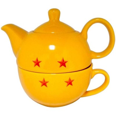 Just Funky Dragon Ball Super Stackable 11oz Teapot and Cup Set