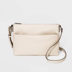 Zip Closure Crossbody Bag - A New Day™