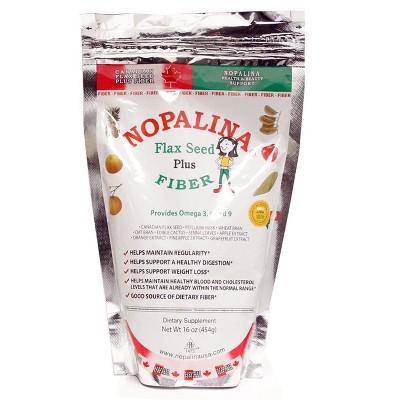 Nopalina Flax Seed Plus Fiber Dietary Supplement - 16oz