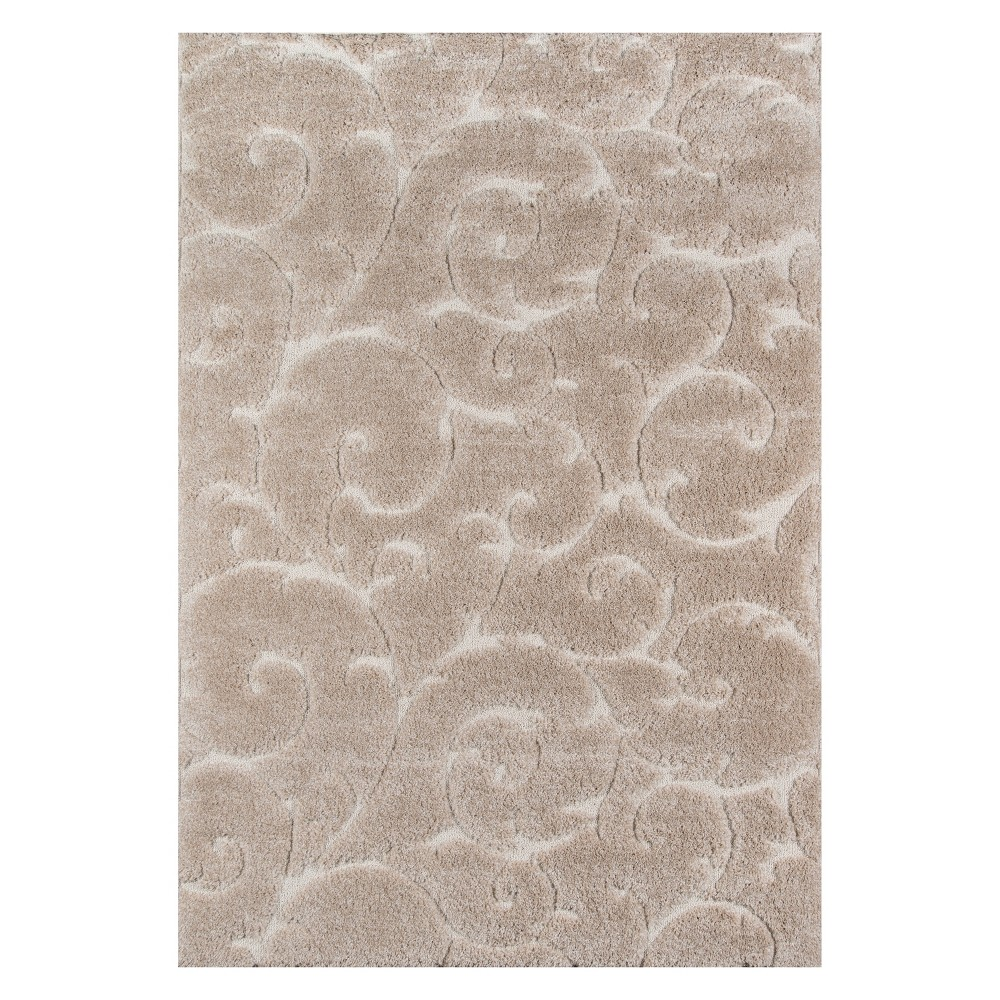 33X5 Shapes Loomed Accent Rug Beige - Momeni Buy