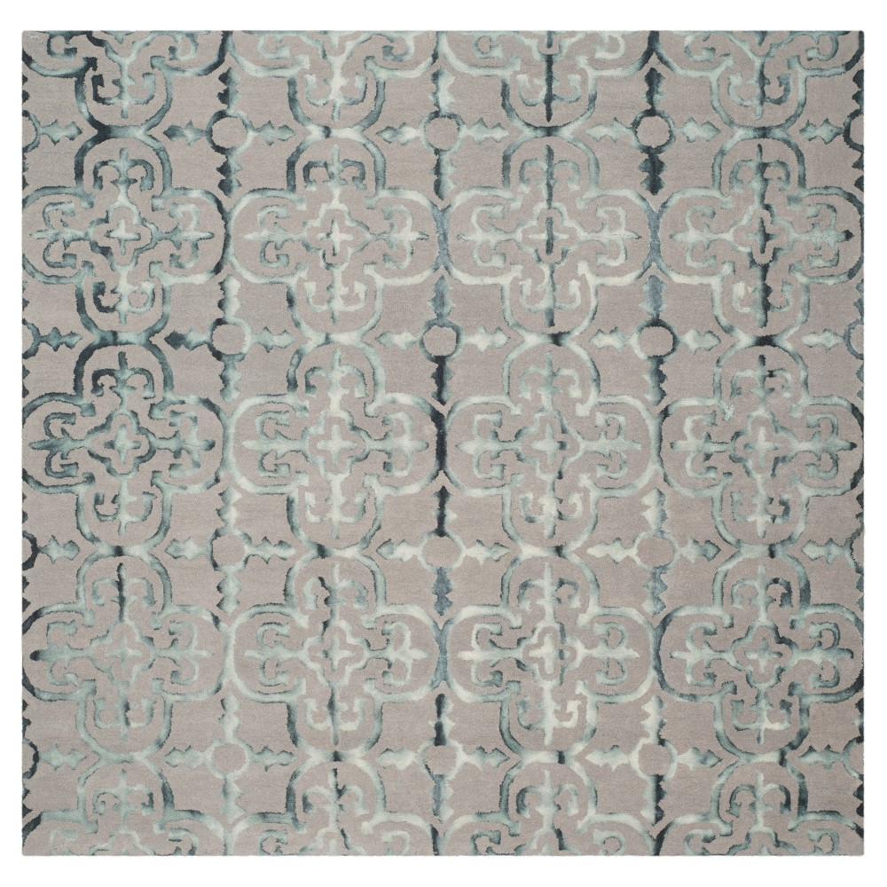 Bardaric Area Rug - Gray/Charcoal (7'x7') - Safavieh