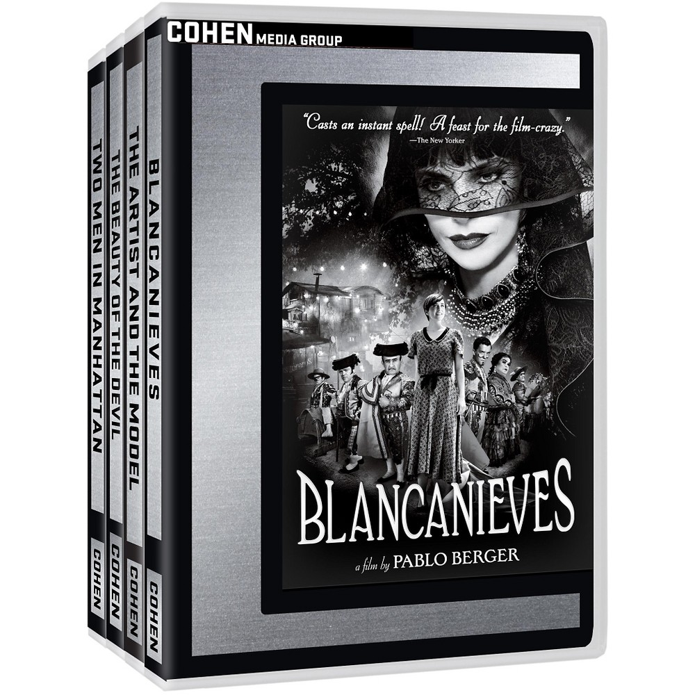 Cohen in glorious black and white bun (Dvd)