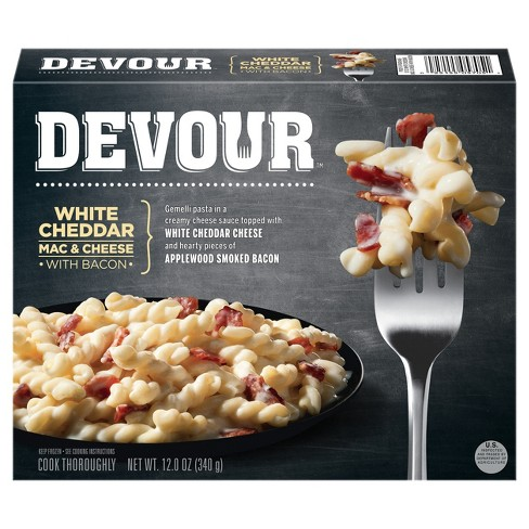 Devour White Cheddar Mac & Cheese with Frozen Bacon - 12oz - image 1 of 3