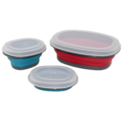 Squish 3pk Collapsible Storage Container