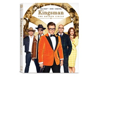 Kingsman: The Golden Circle (Blu-ray + DVD + Digital)