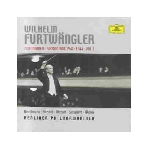 Handel - Live Recordings 1942-1944 Volume 1 (CD) - image 1 of 1