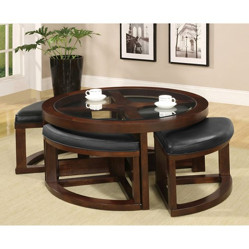Sun Pine Balsa Coffee Table Basic Brown