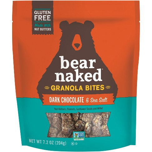 Bear Naked Gluten Free Dark Chocolate Sea Salt Granola Bites - 7oz ...
