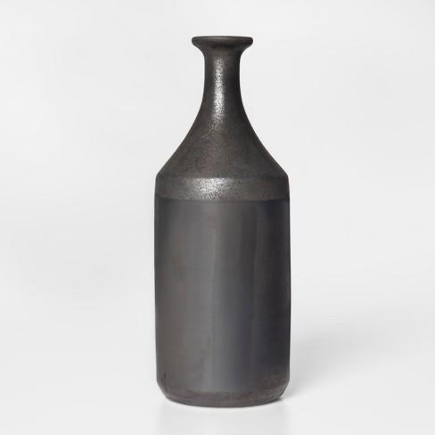 Earthenware Vase Large Black Project 62 Target