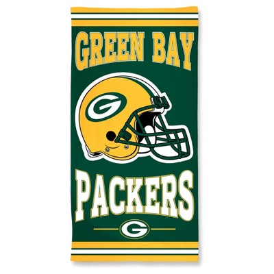 "NFL Green Bay Packers Wincraft Beach Towel - 30"" x 60"""